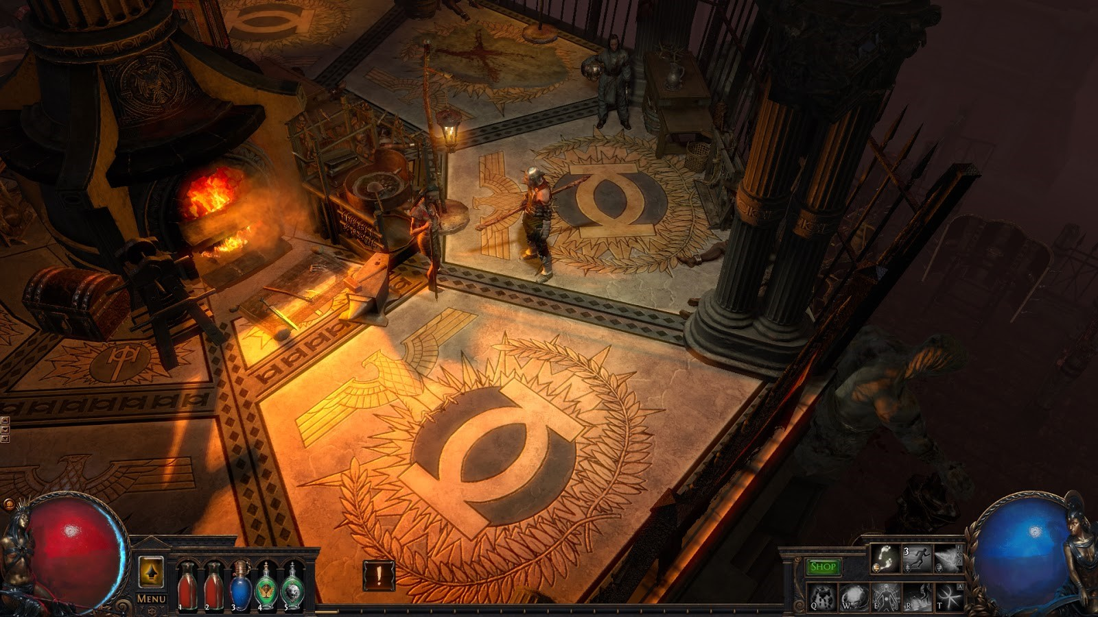 Poe Fall Of Oriath Character Wallpaper Path Of Exile The Fall Of Oriath Press Preview Mmohuts