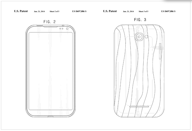 Samsung patent filing shows buttonless device and possible