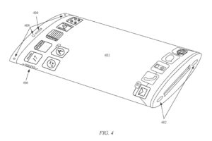 Apple iPhone patent shows wraparound screen and modular