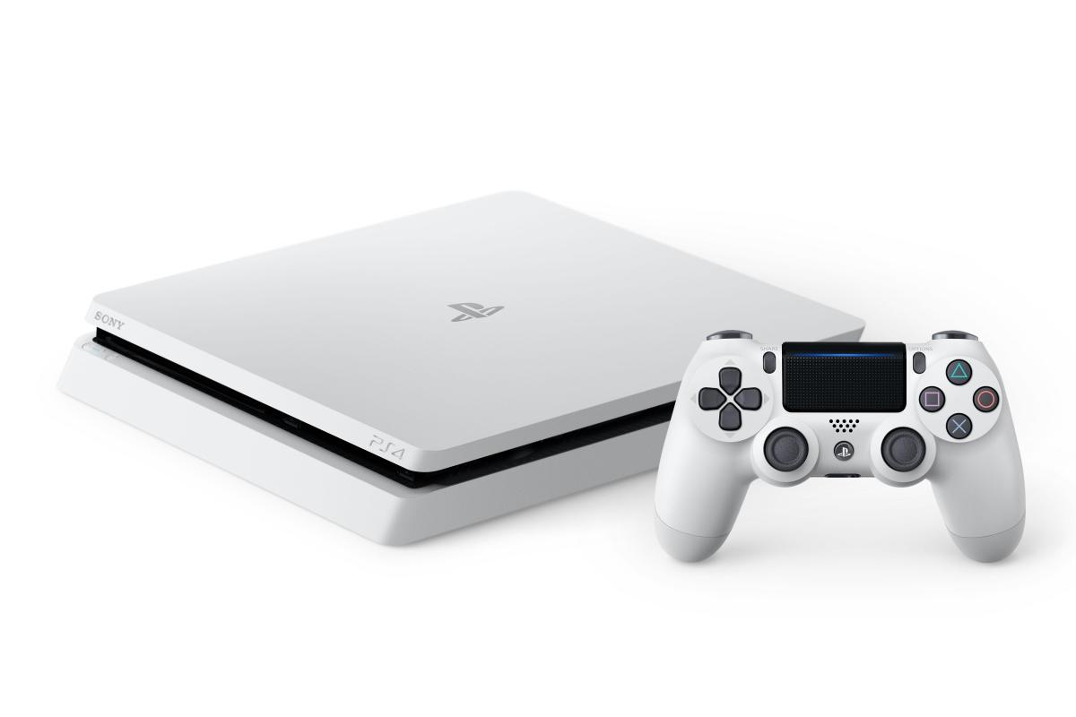 Glacier White PlayStation 4 Slim Now Available In Canada