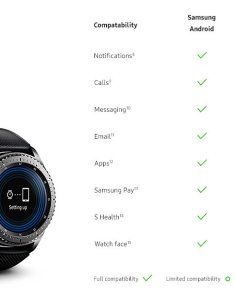 Gear  compatibility chart also samsung releases android and ios rh mobilesyrup
