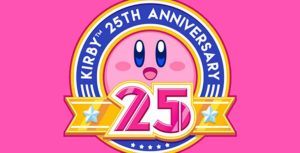 Kirby 25th anniversary banner