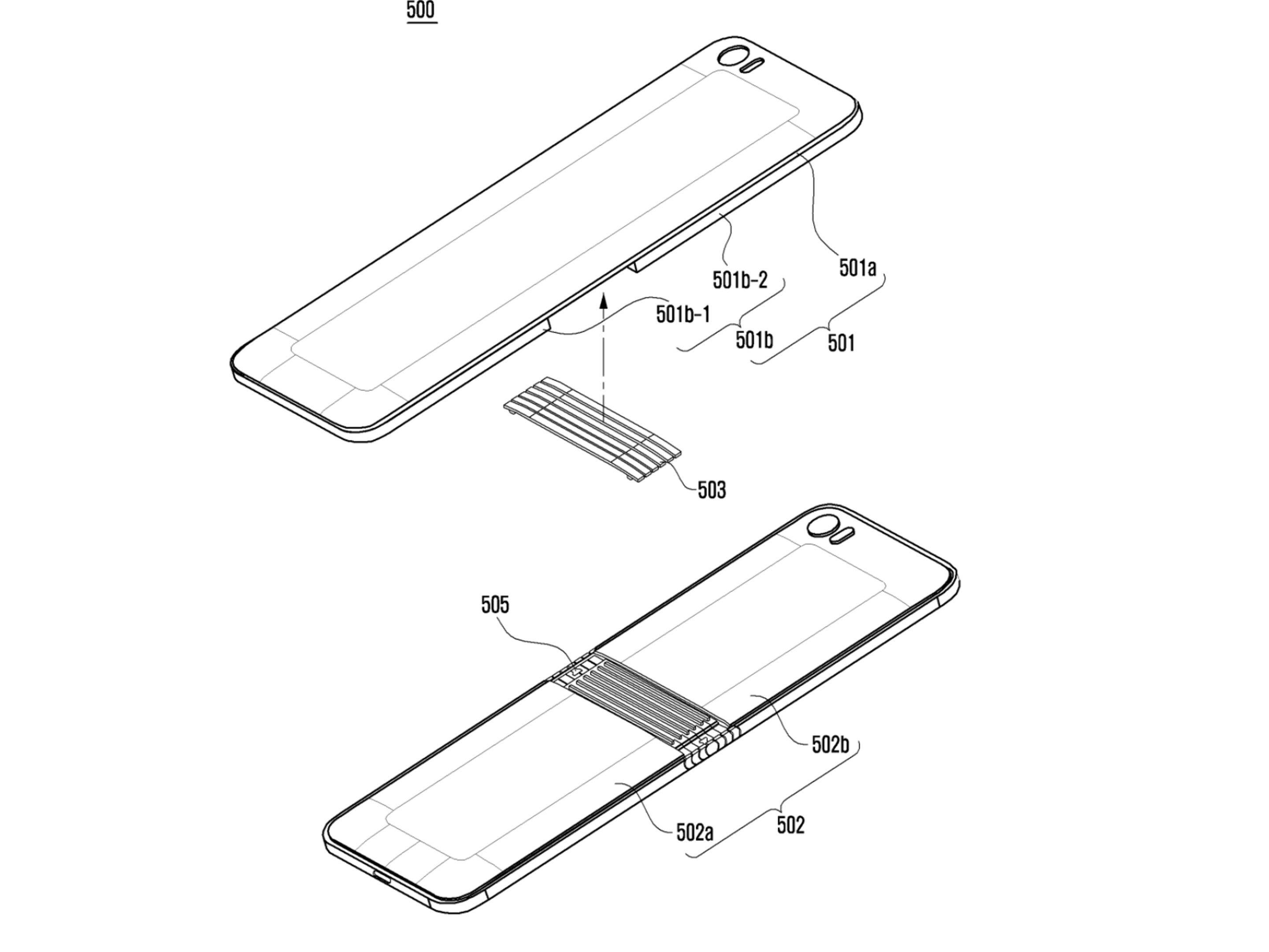 Samsung patent sketch shows off yet another foldable phone