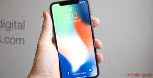 iPhone X front display