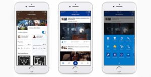 The newly updated PlayStation mobile app