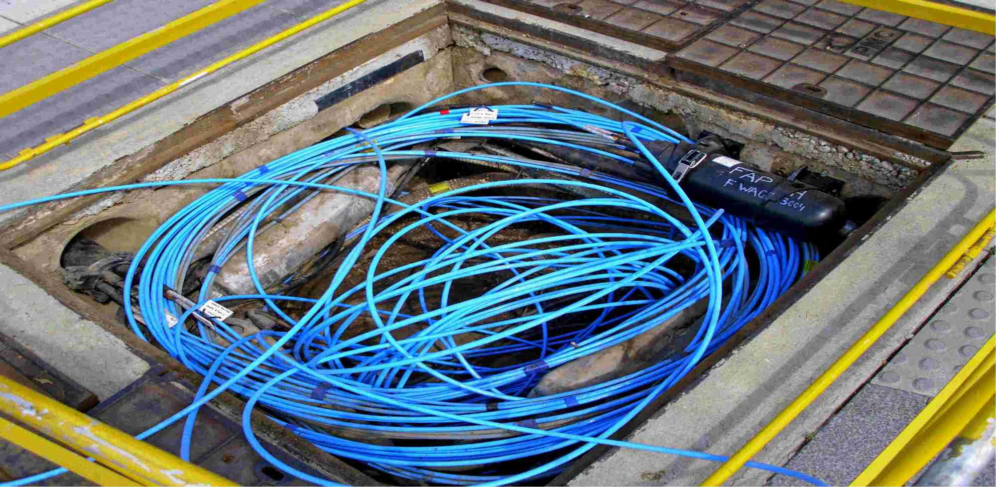 hight resolution of fibre cables