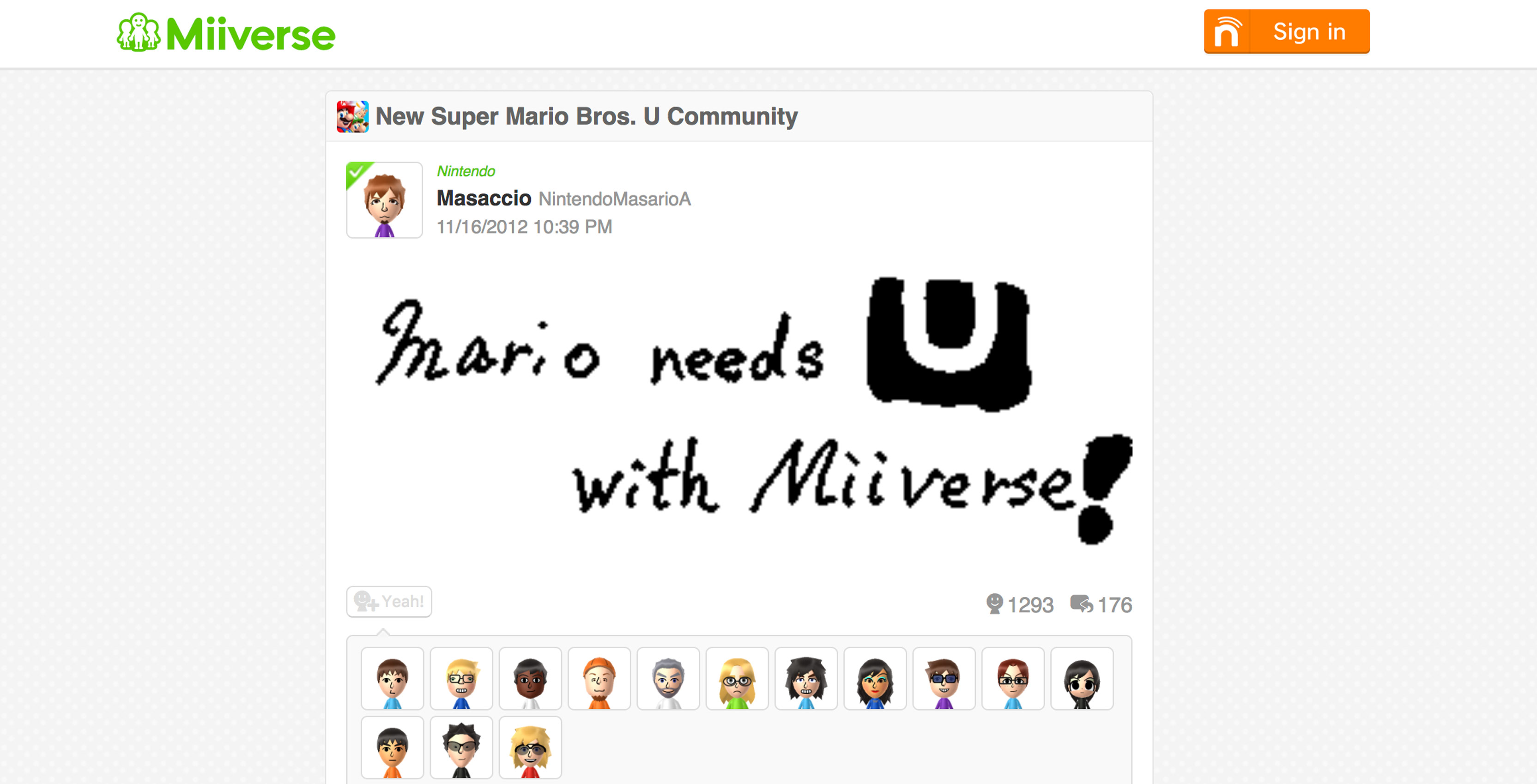 This Archive Of Nintendo S Wii U Miiverse Is 17tb Of Dank