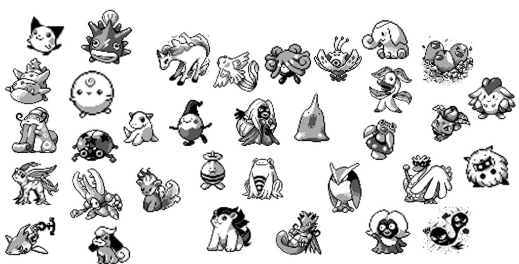 Dataminers have found unreleased Pokémon sprites in Gold