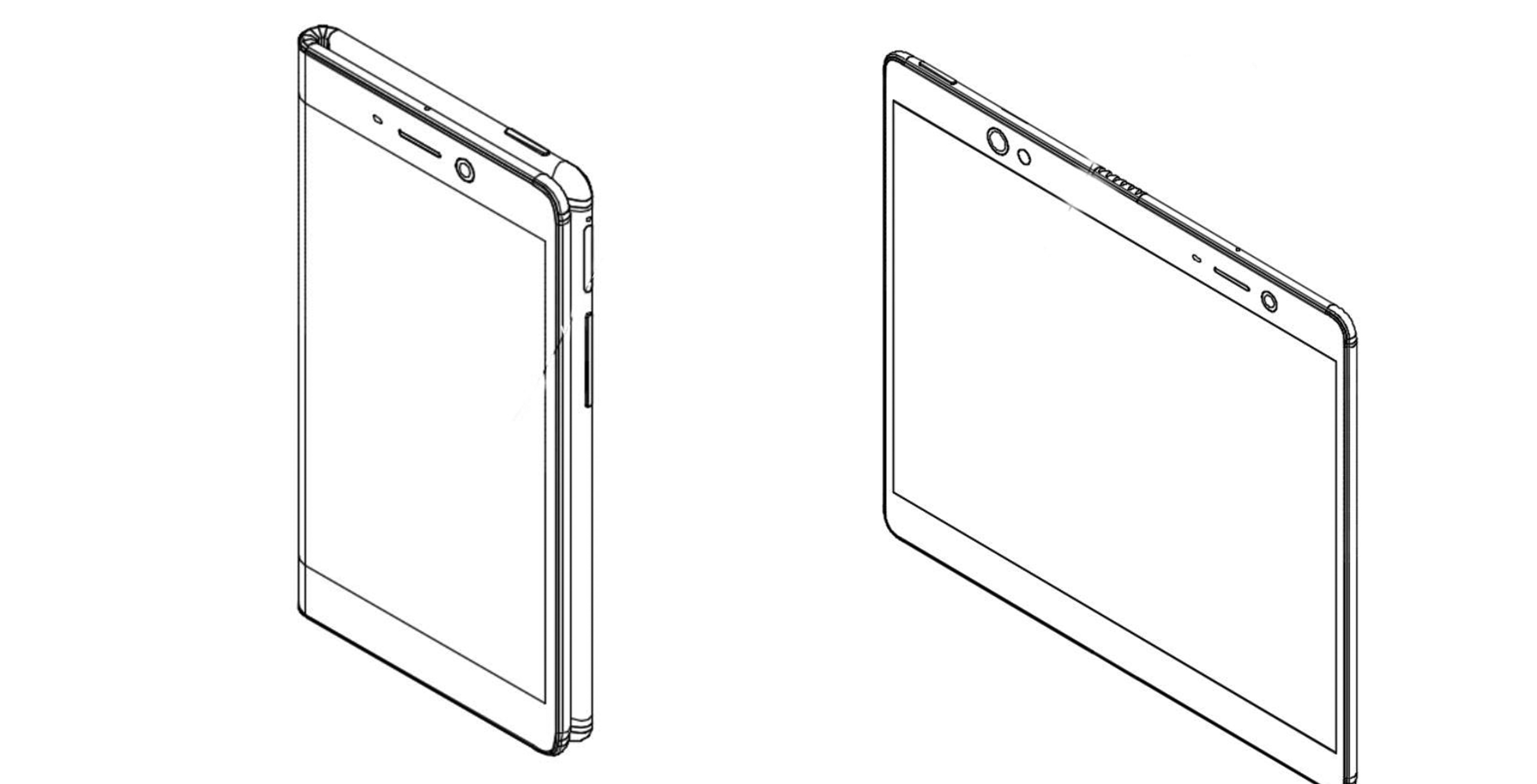 Oppo patent shows a foldable display with a mini airbag