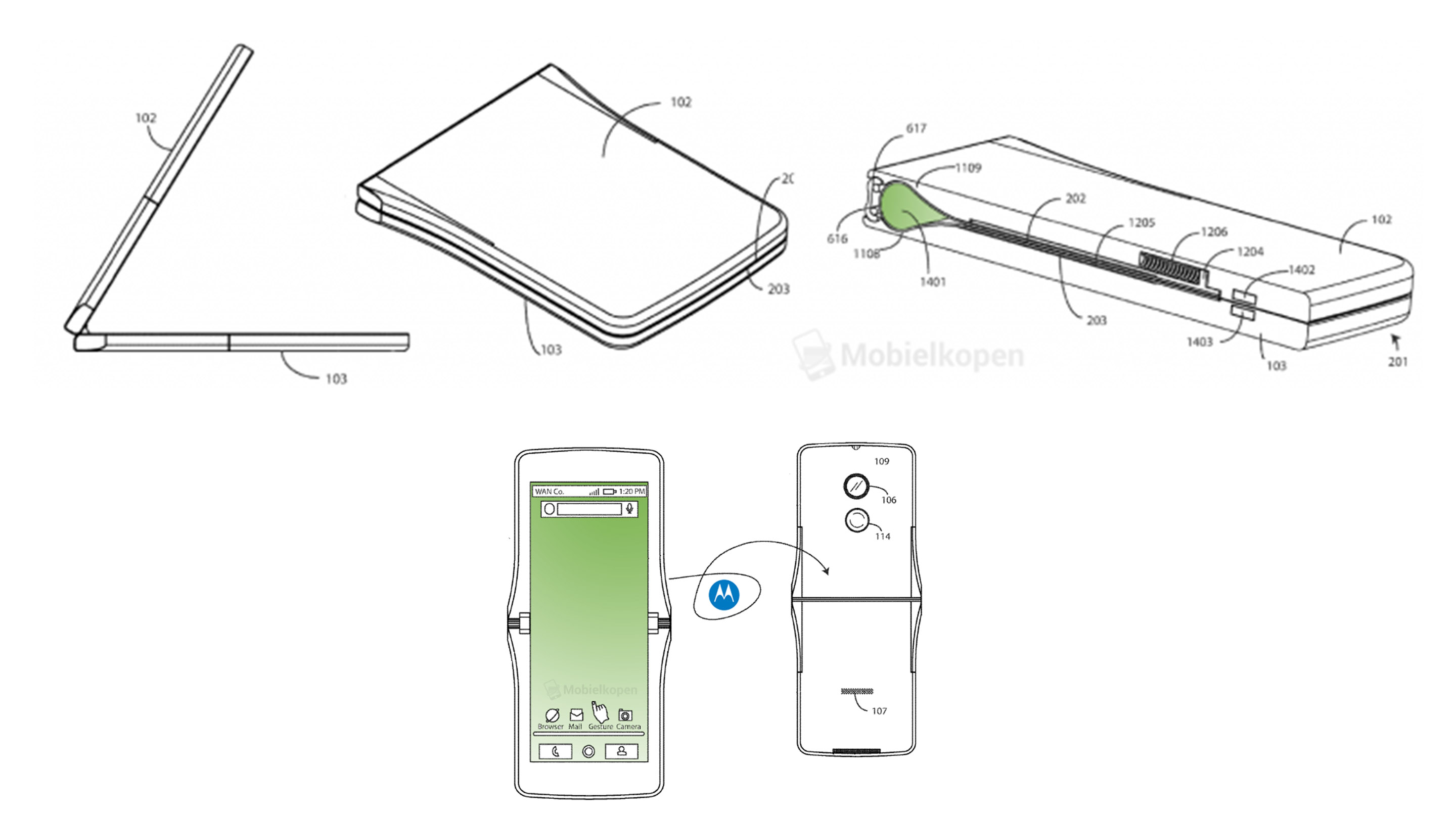 Motorola patent shows off what could be the modern Razr