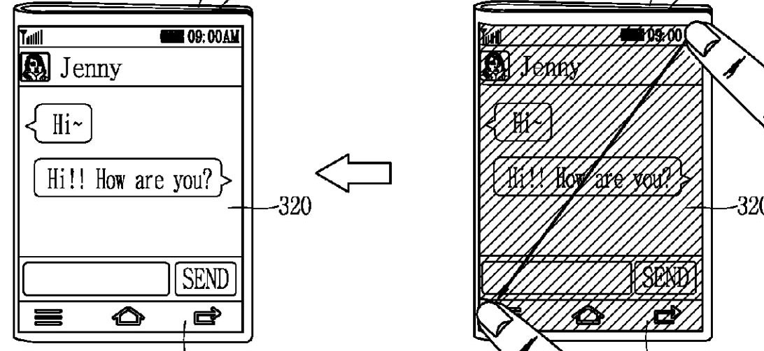 LG patents a foldable smartphone with a transparent display