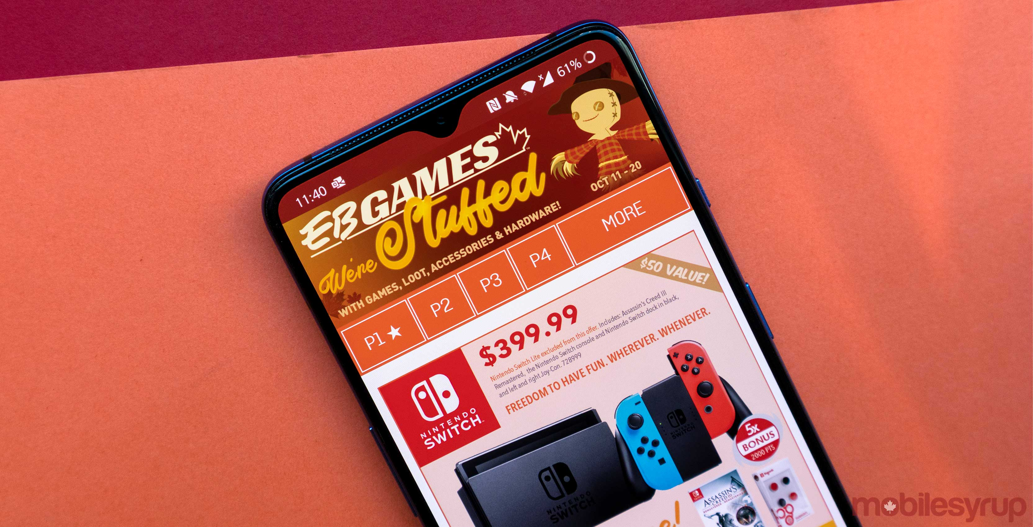 Eb Games Has Tons Of Video Game Deals For Canadian Thanksgiving