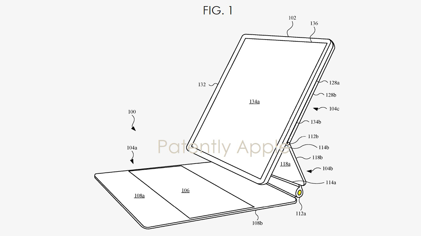 Apple iPad magic Keyboard patent reveals Apple Pencil