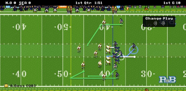 retro bowl game