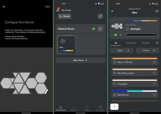 nanoleaf refreshed app