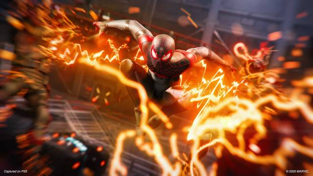 Marvel's Spider-Man: Miles Morales Venom powers