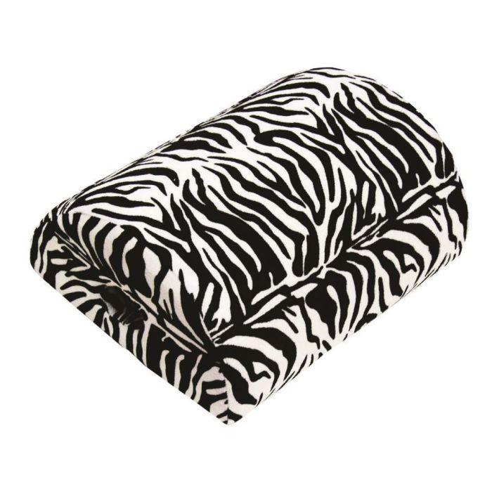 4 in 1 memory foam cushion zebra print