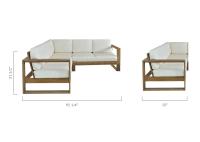 Laguna Outdoor Sectional Sofa