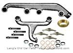 Model T Manifold replacement kit, complete for intake and