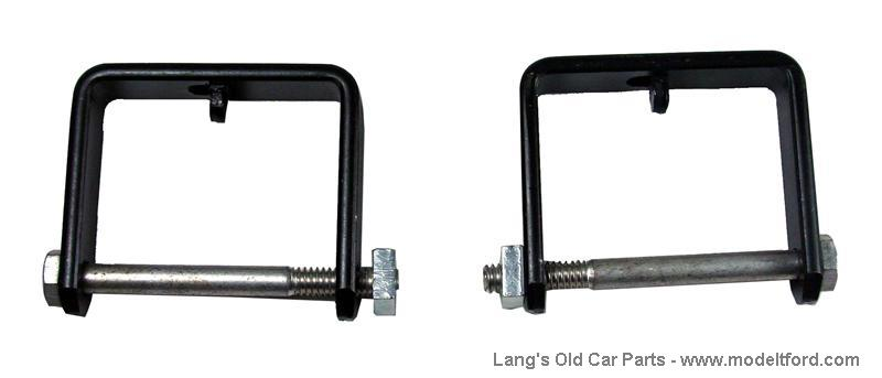 Model T Front spring clamps, set of 2, 3847B