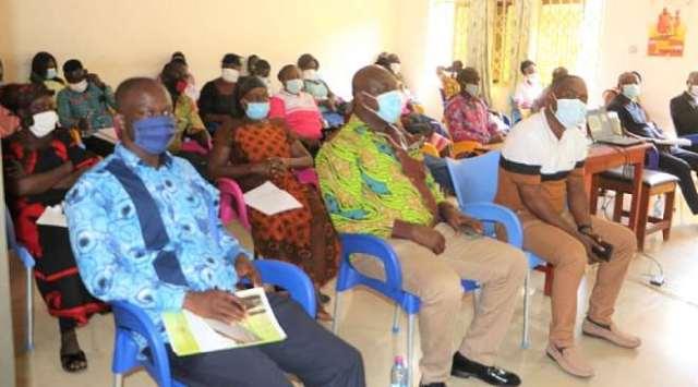 Undp Gh Gcf Agogo- Facilitators On Front Row- Small