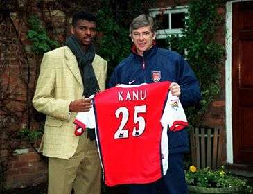 Image result for Kanu had a great impact on my career – Wenger