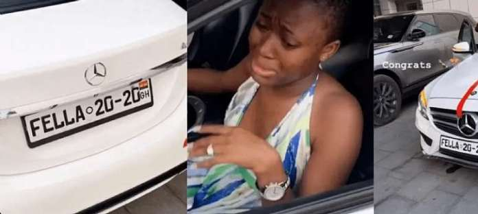 Medikal Surprises His Wife With A New Car [Watch]
