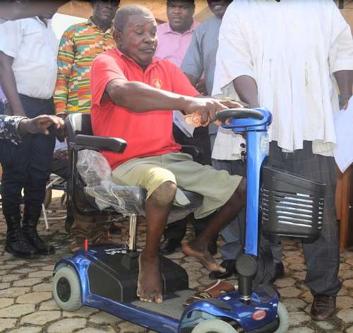 Mr. Yaw Opoku a beneficiary