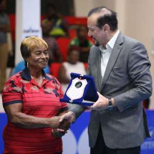 Africa Table Tennis Honours Ghana's Legend, Ethel Jacks
