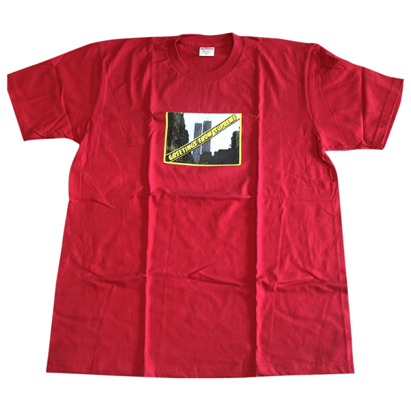 Pre-owned Supreme Red Cotton T-shirts   ModeSens