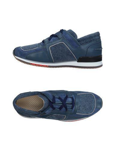 A.testoni Sneakers In Slate Blue | ModeSens