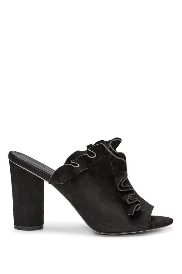 Rebecca Minkoff Jaxon Sandal In Black ModeSens