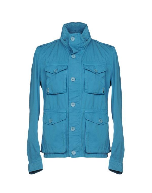 Add Jackets In Pastel Blue Modesens