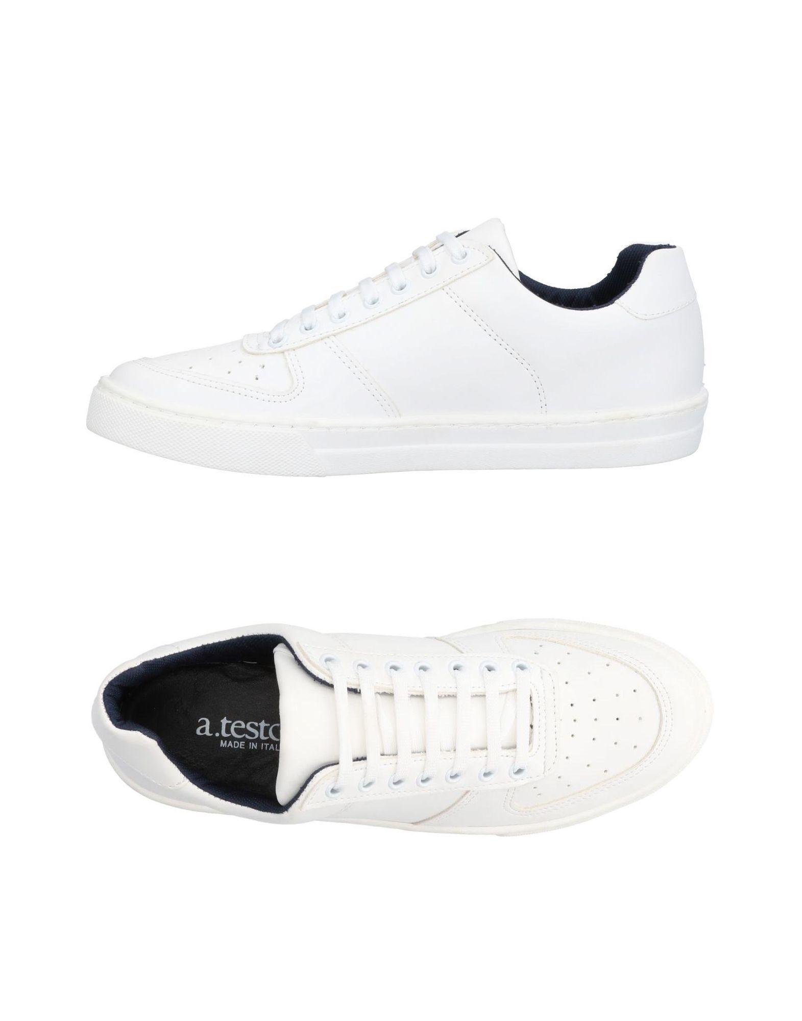 A.testoni Sneakers In Ivory | ModeSens