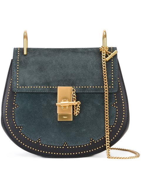 ChloÉ Studded 'drew' Shoulder Bag   ModeSens