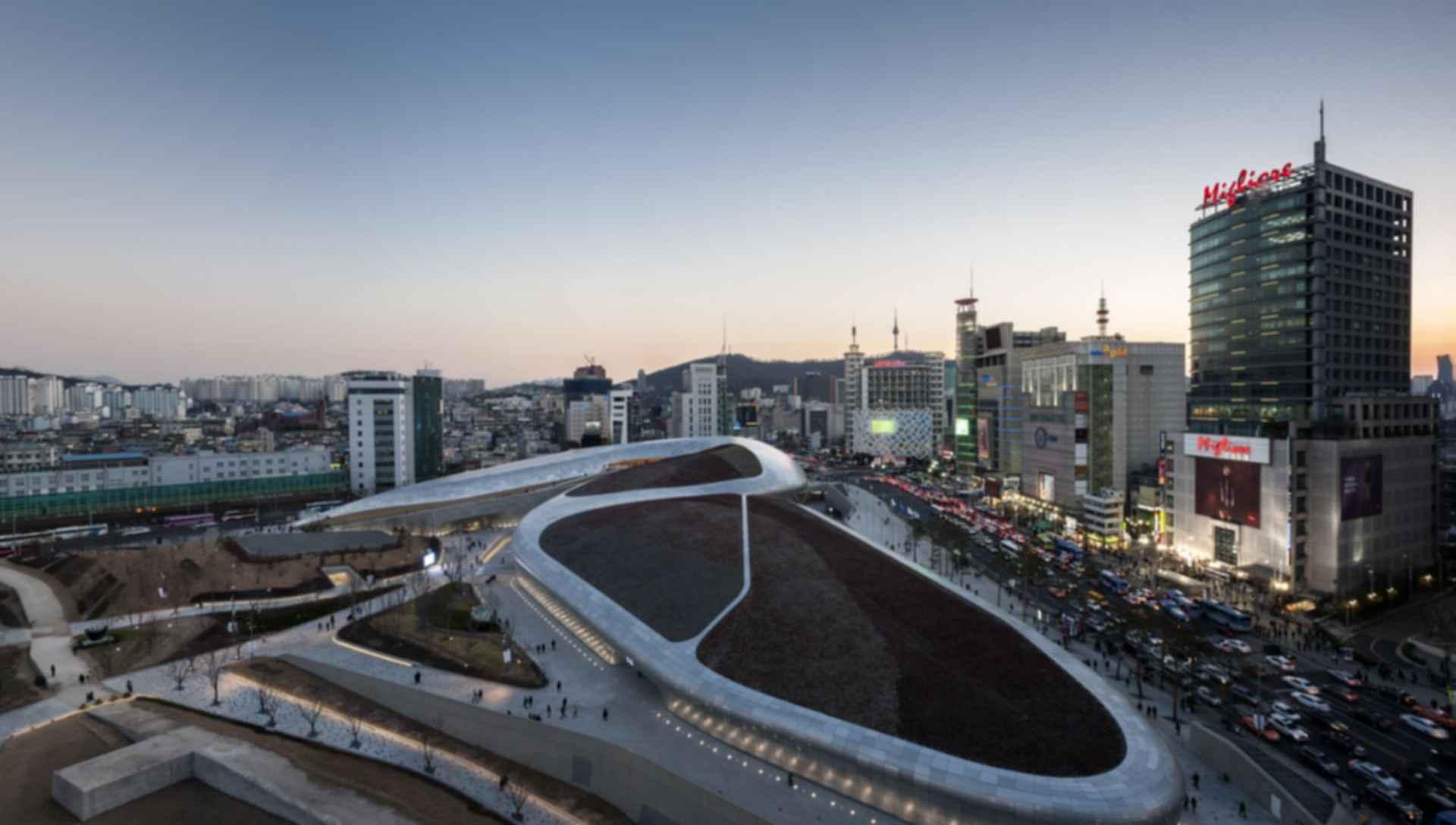 Dongdaemun Design Plaza  Concept Design  modlarcom