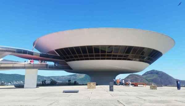 Brazil Niteroi Contemporary Art Museum