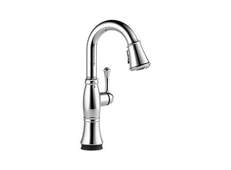 Cassidy Single Handle Pull-Down Bar/Prep Faucet with