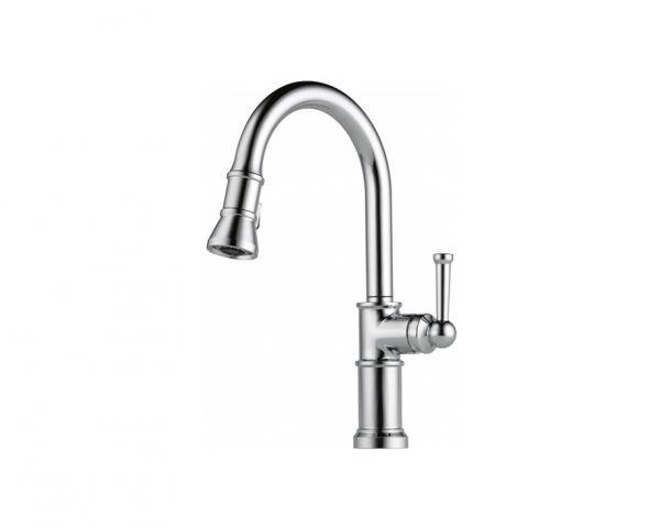 Artesso Single Handle Pulldown Kitchen Faucet Chrome