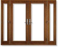 Vented Sidelight Patio Doors - modlar.com