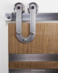 Modern Horseshoe Barn Door Hardware - modlar.com