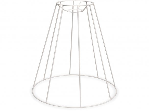 Buy Lampshade frame, round, conical (for hanging lamp