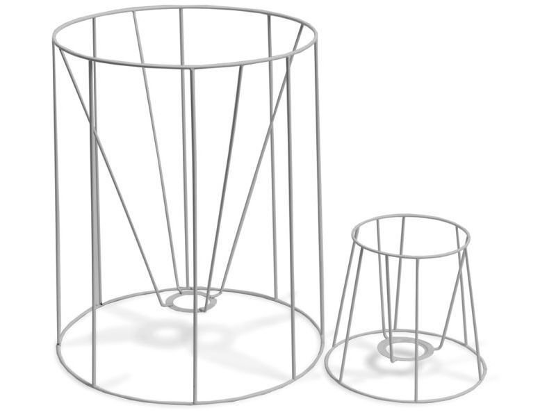 Buy Lampshade frame, round, conical (f. standing lamp