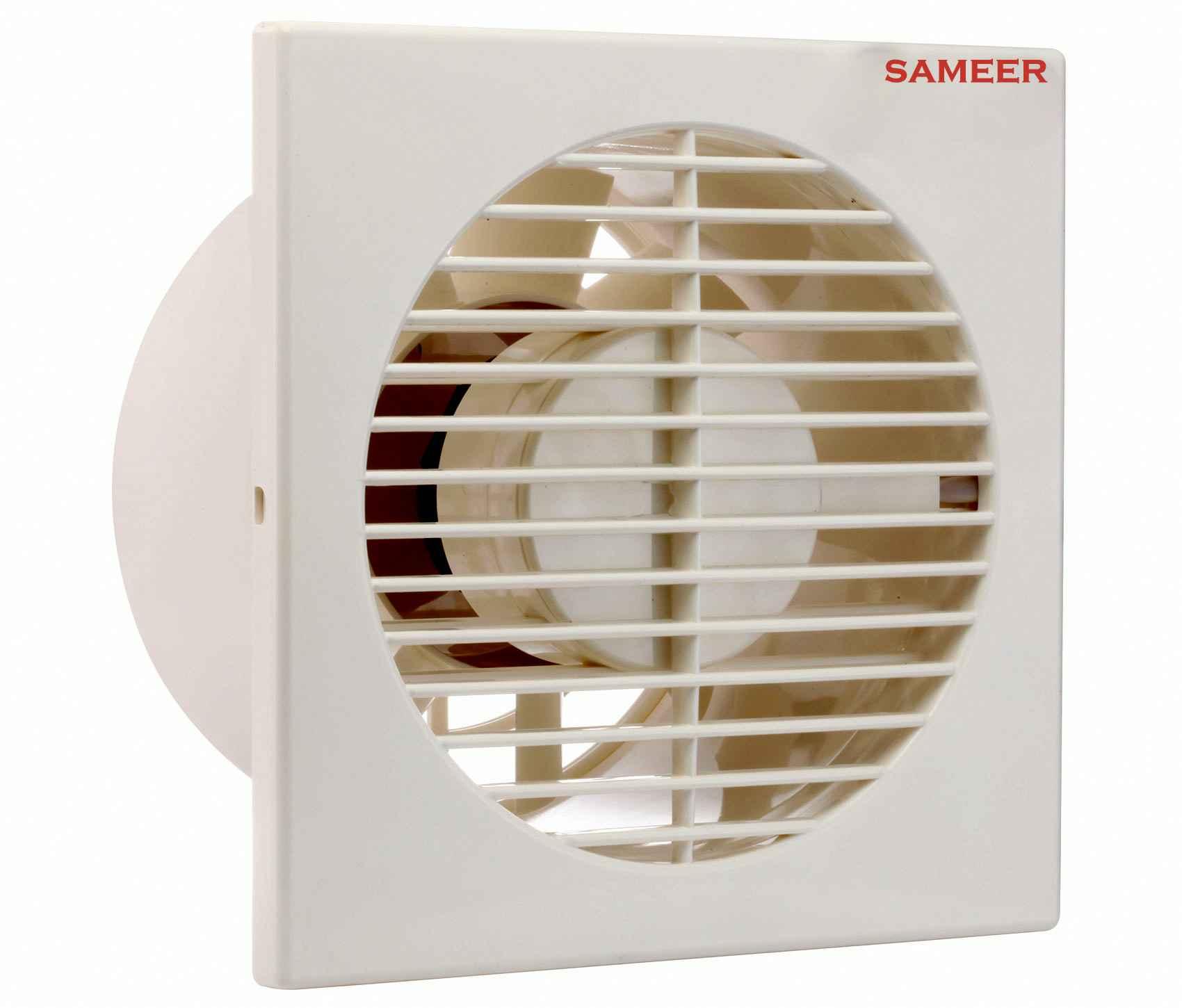 sameer smarty 4 inch exhaust ventilation fan speed 2200 rpm