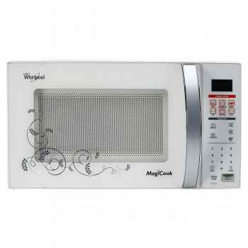 whirlpool magicook classic 20 litre pure white solo microwave oven