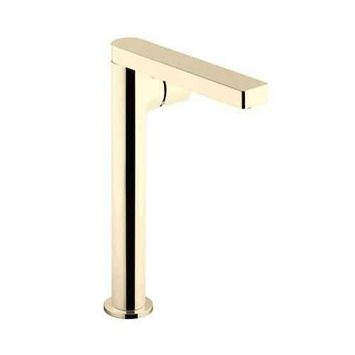 kohler composed luxury french gold single control tall basin faucet 73159t 7 af