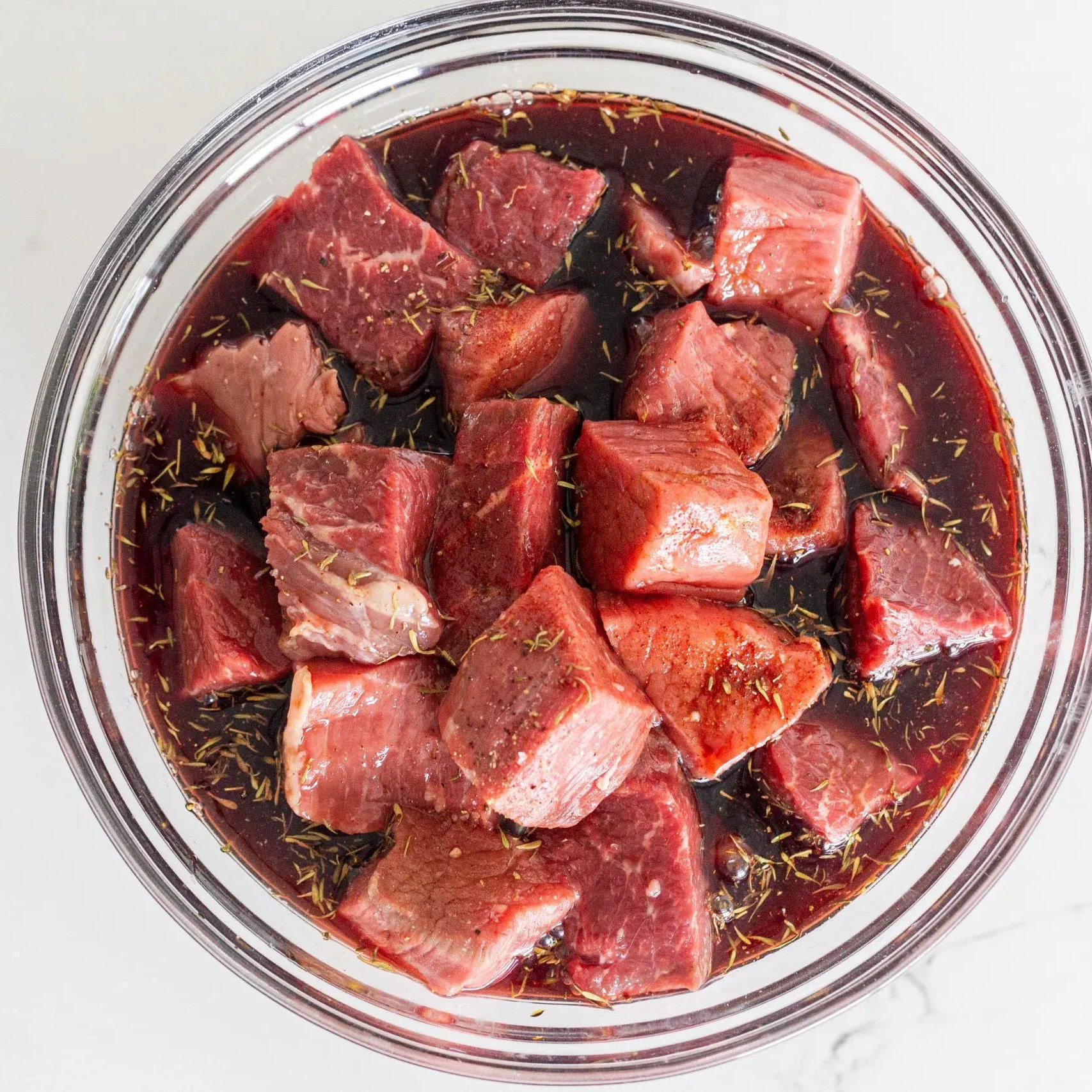 Beef, sauce and steak seasoning