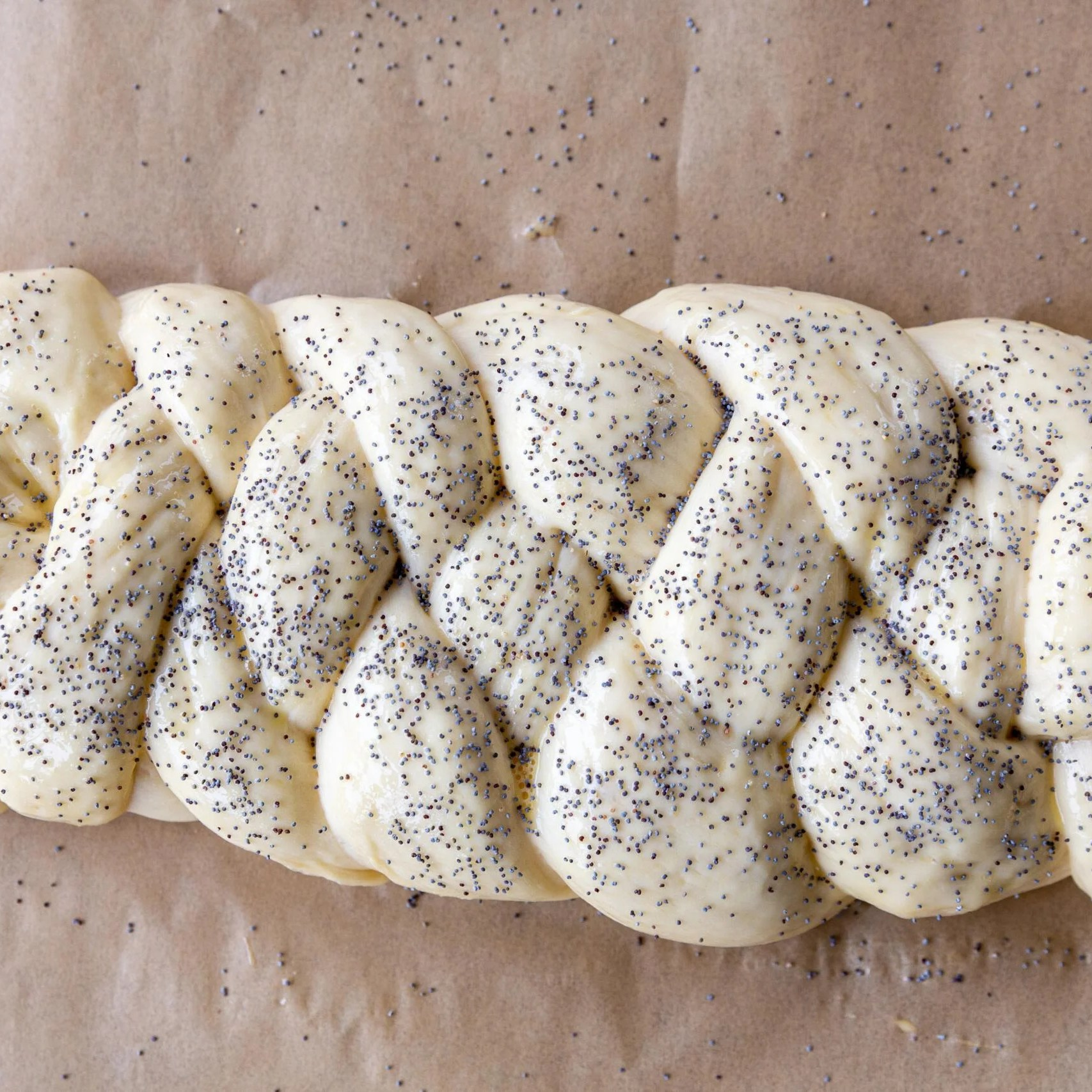 unbaked Challah Bread