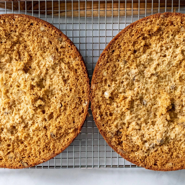 soaked sponge cake