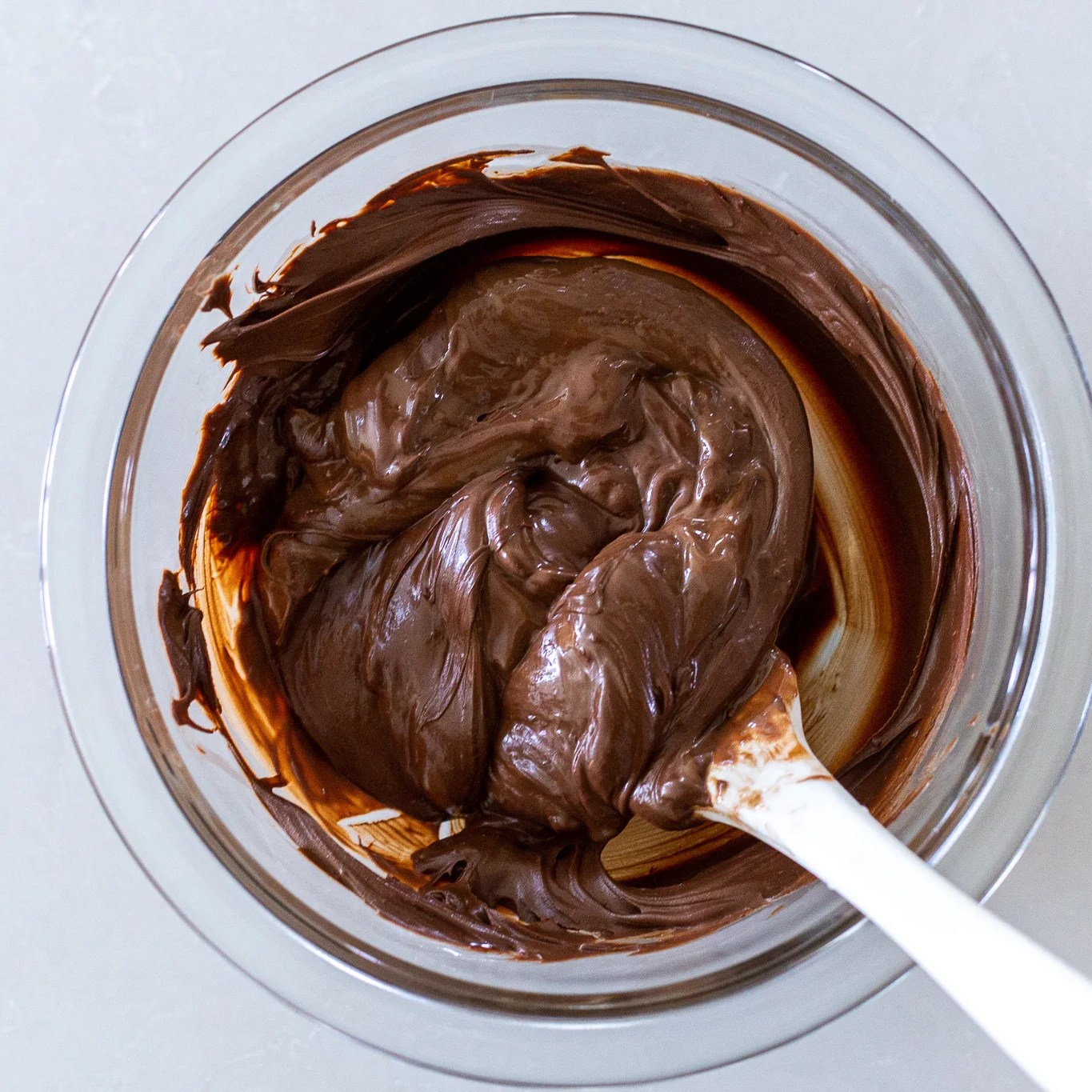 chocolate and nutella in a bowl
